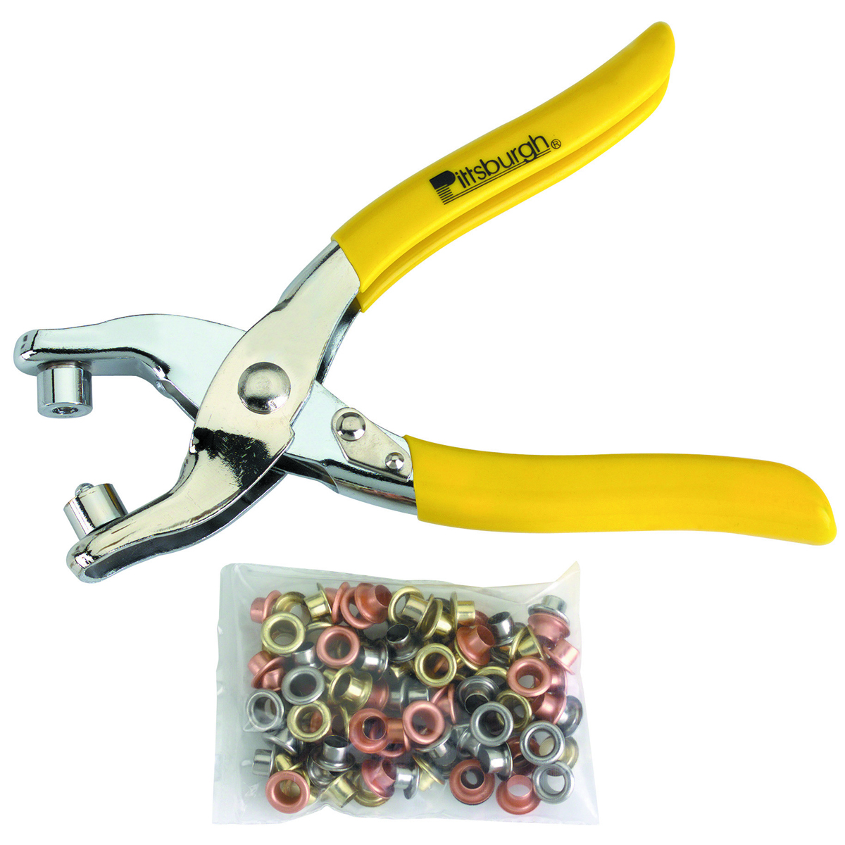 Grommet Pliers With 100 Grommets