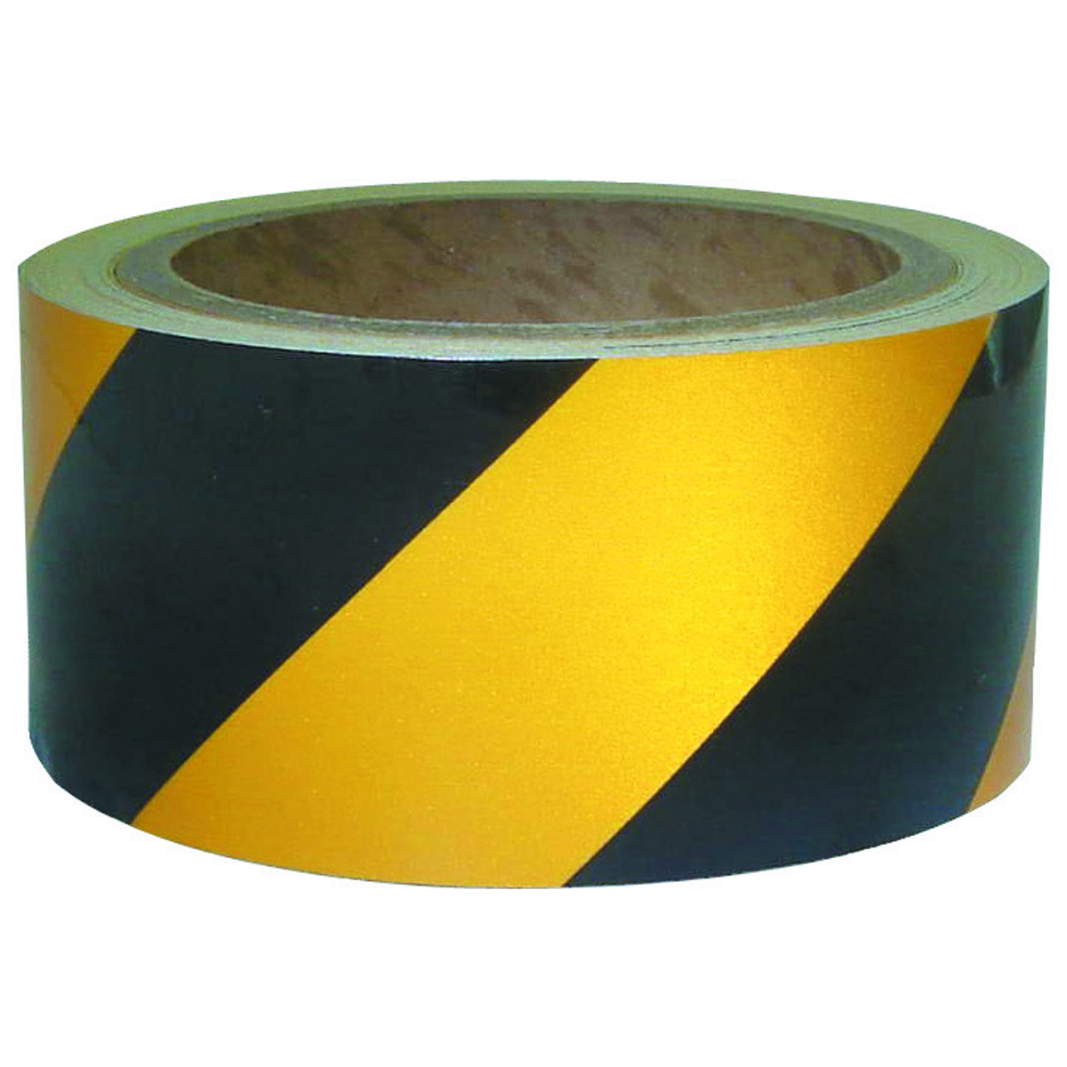 2 X 30 Ft Reflective Tape Yellow And Black Stripes