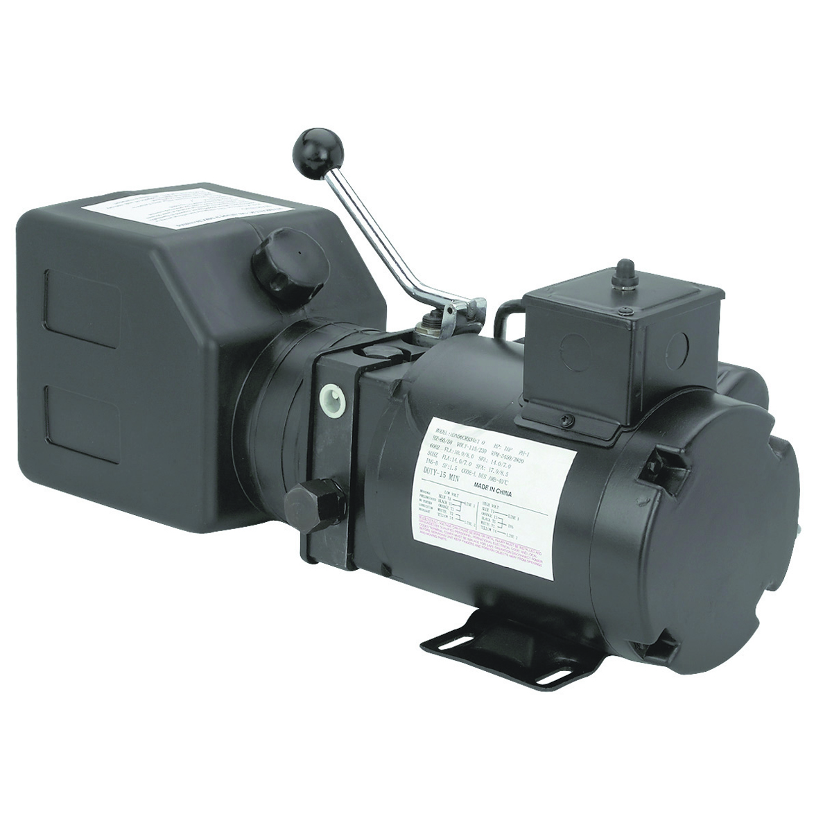 Electric hydraulic pump save on this 1 hp hydraulic pump for Hydraulic motor and pump