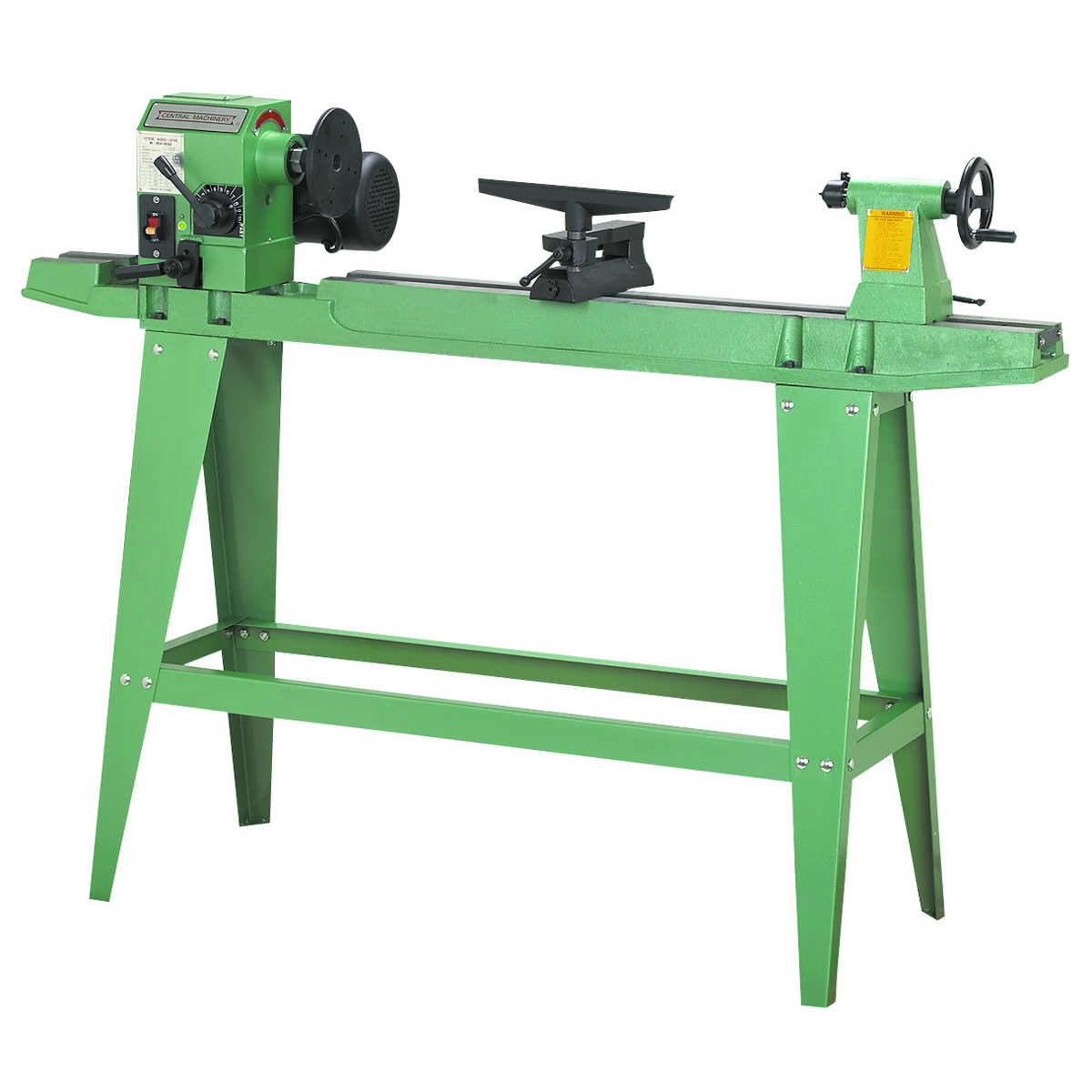 Image Of Meter 96308 Tool Central : Wood lathe w reversible head