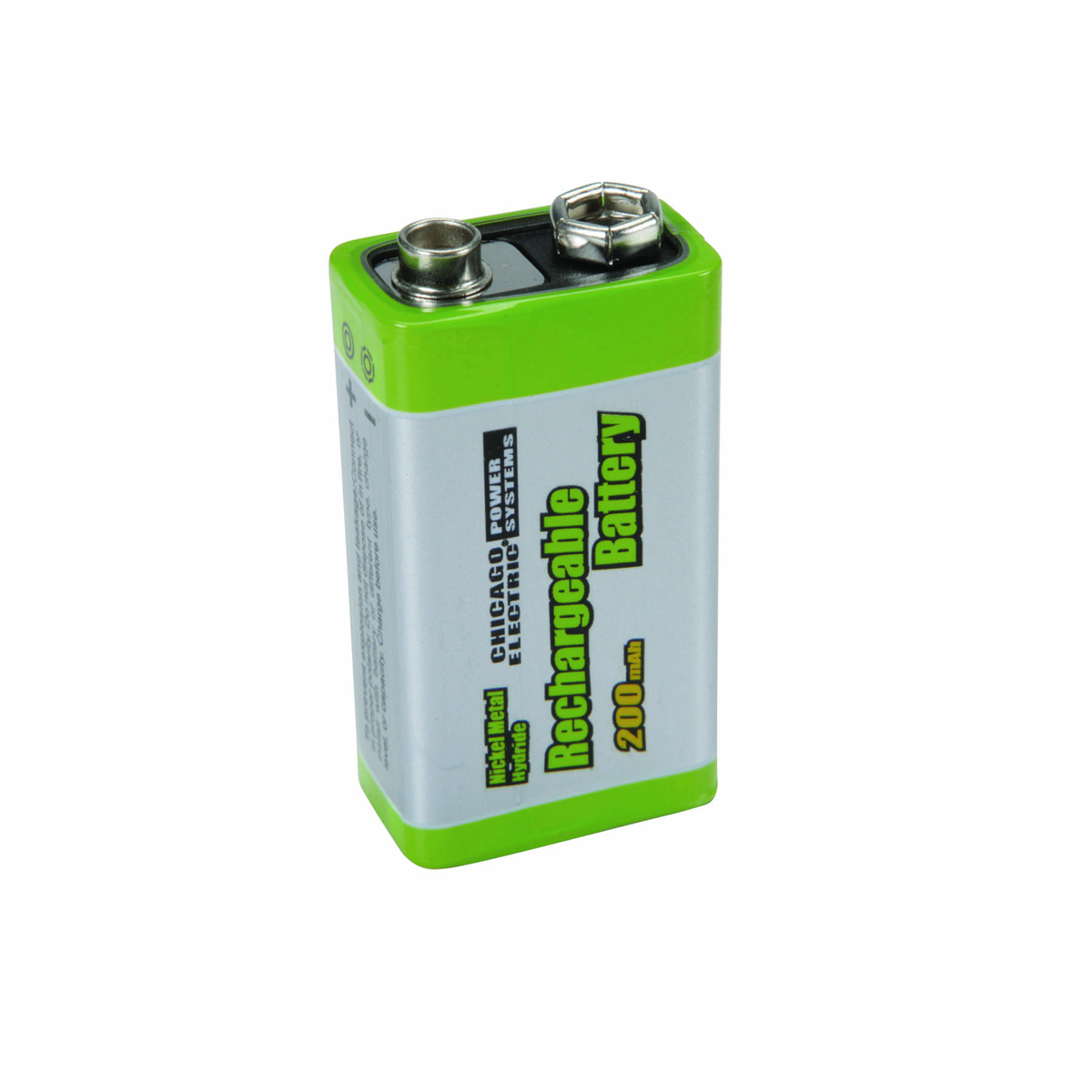 Nearest Battery Store >> High Capacity NiMH Rechargeable 9 Volt Battery