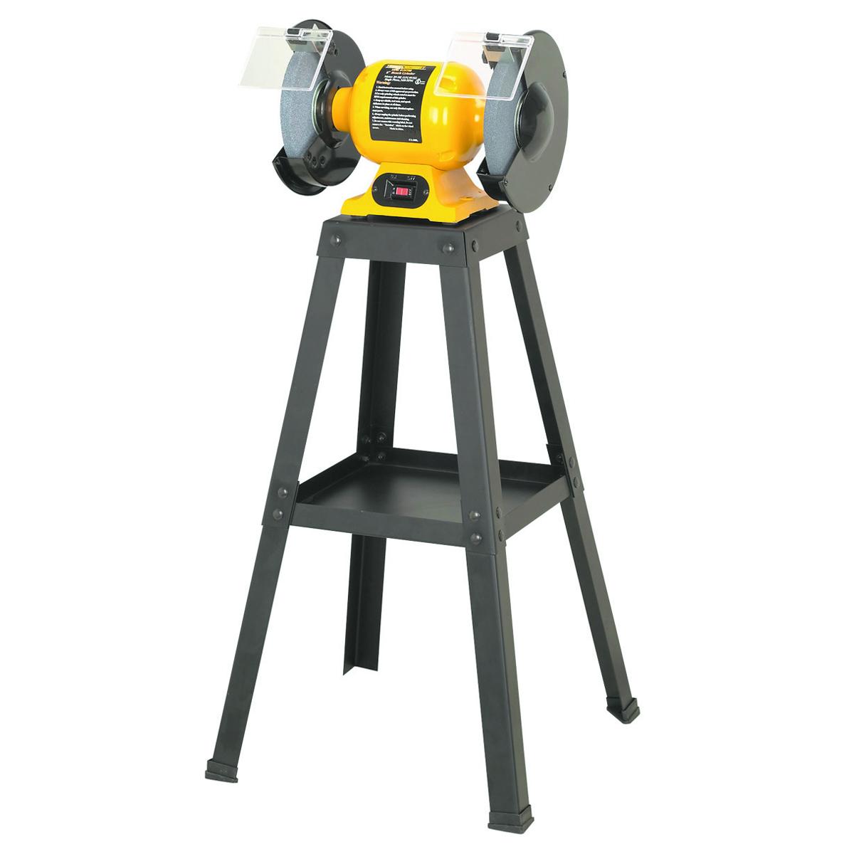 Universal bench grinder stand for Table grinder