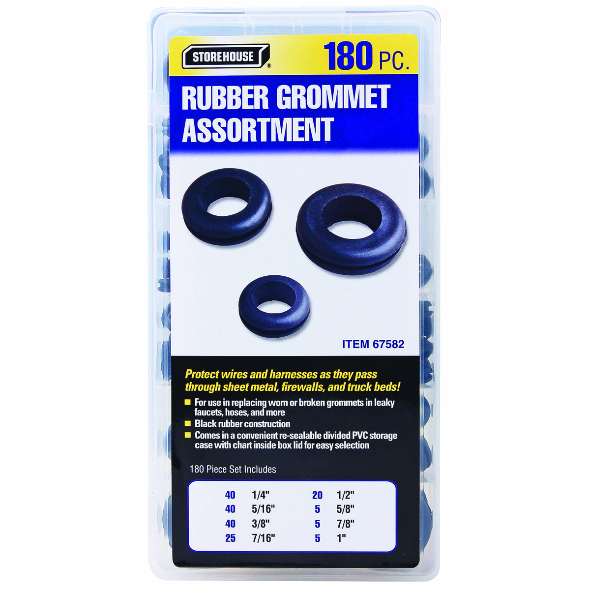 180 Piece Harness Grommet Set on 3 inch air filter, 3 inch clothespin, 3 inch dowel, 3 inch chain, 3 inch insulation, 3 inch staple, 3 inch block, 3 inch harness, 3 inch shaft, 3 inch strap, 3 inch panel, 3 inch cylinder, 3 inch cord, 3 inch ferrule, 3 inch bearing, 3 inch bushing, 3 inch boot, 3 inch connector, 3 inch trim, 3 inch mount,