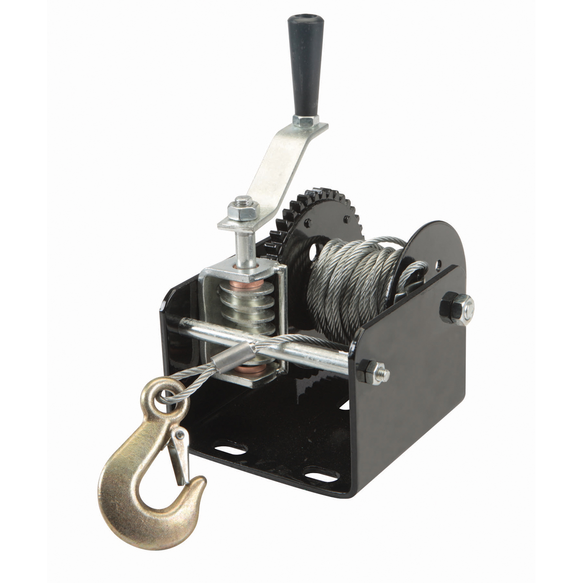 2000 Lb Capacity Geared Winch