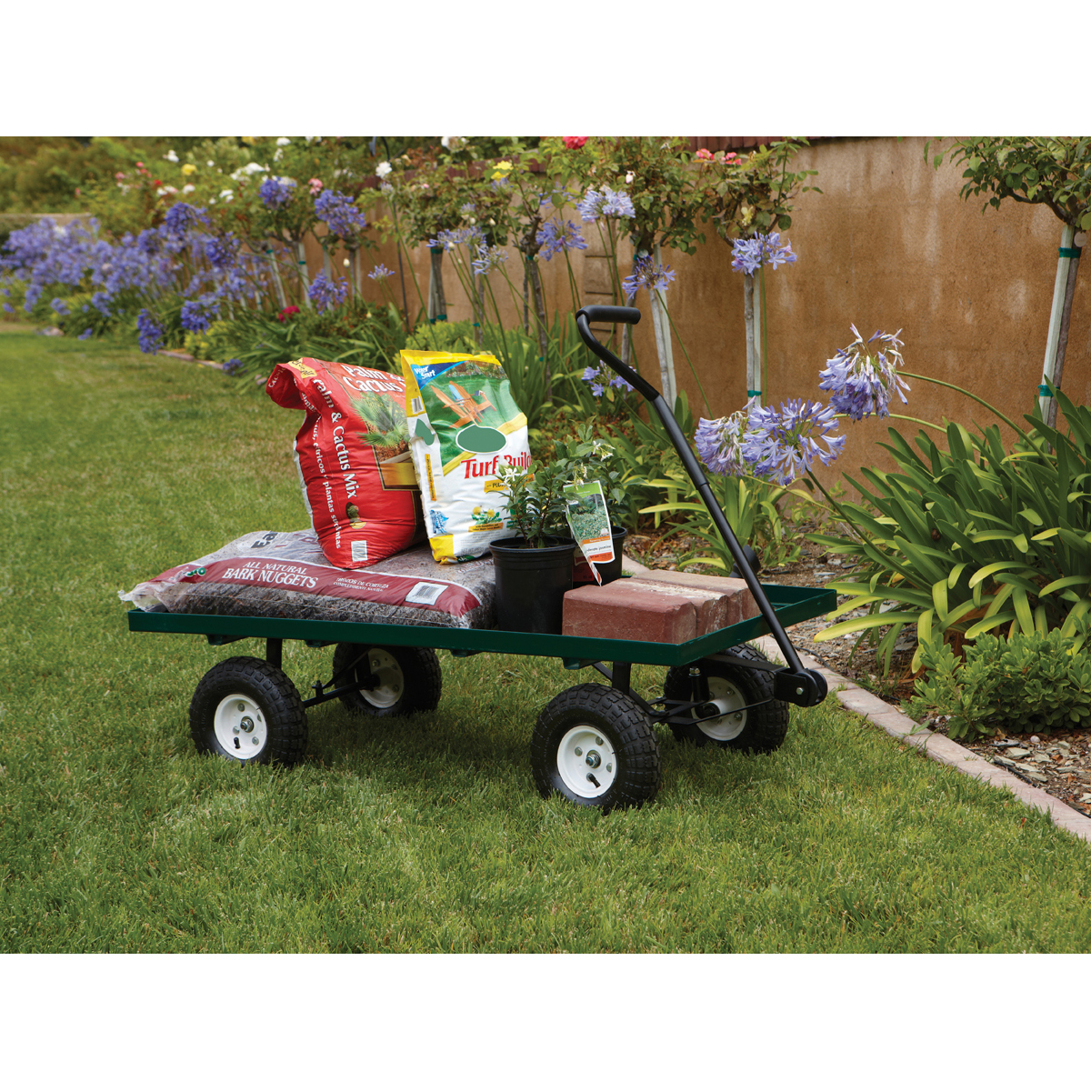 Harbor Freight Utility Cart >> Steel Mesh Deck Utility Wagon