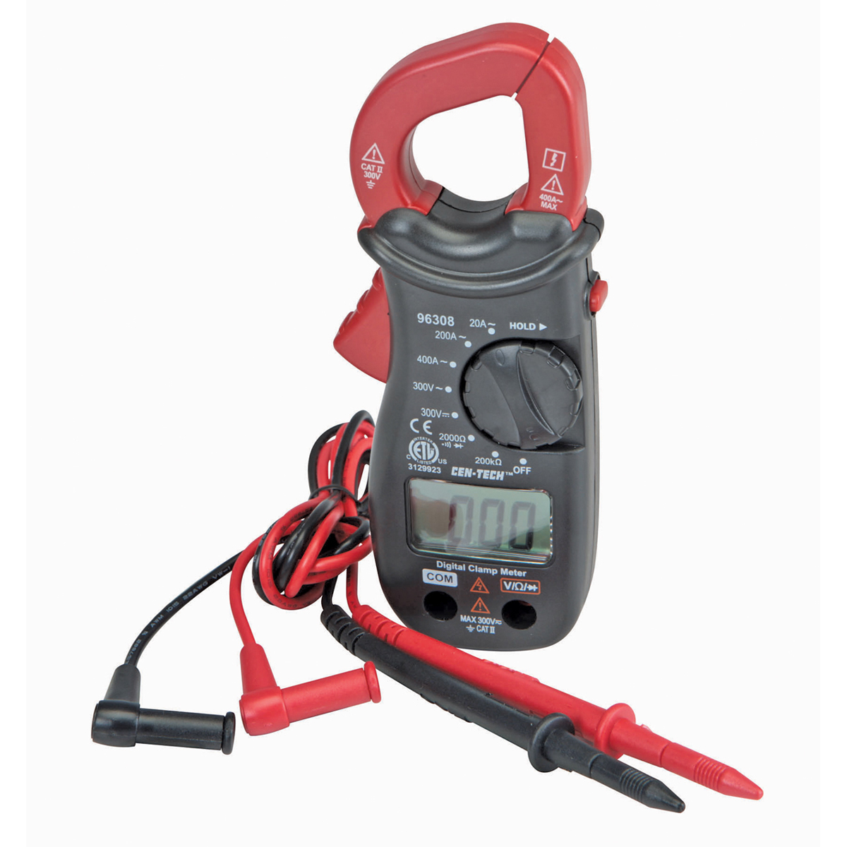 Low Amp Probe Clamp : Digital clamp meter