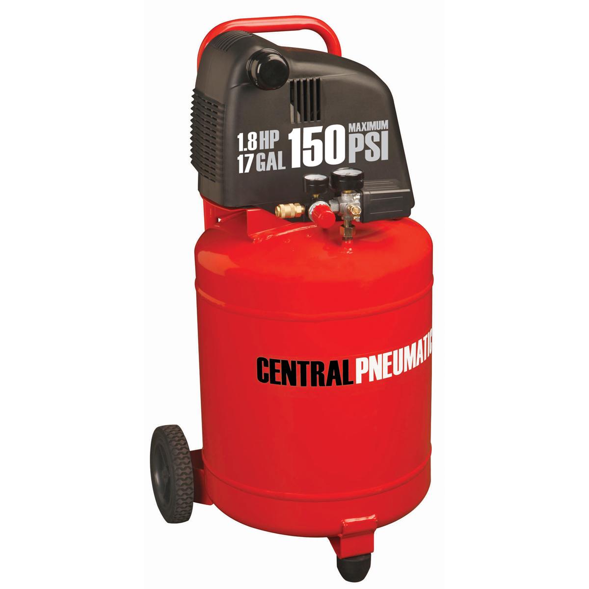 17 Gal 1 8 Hp 150 Psi Oil Free Air Compressor