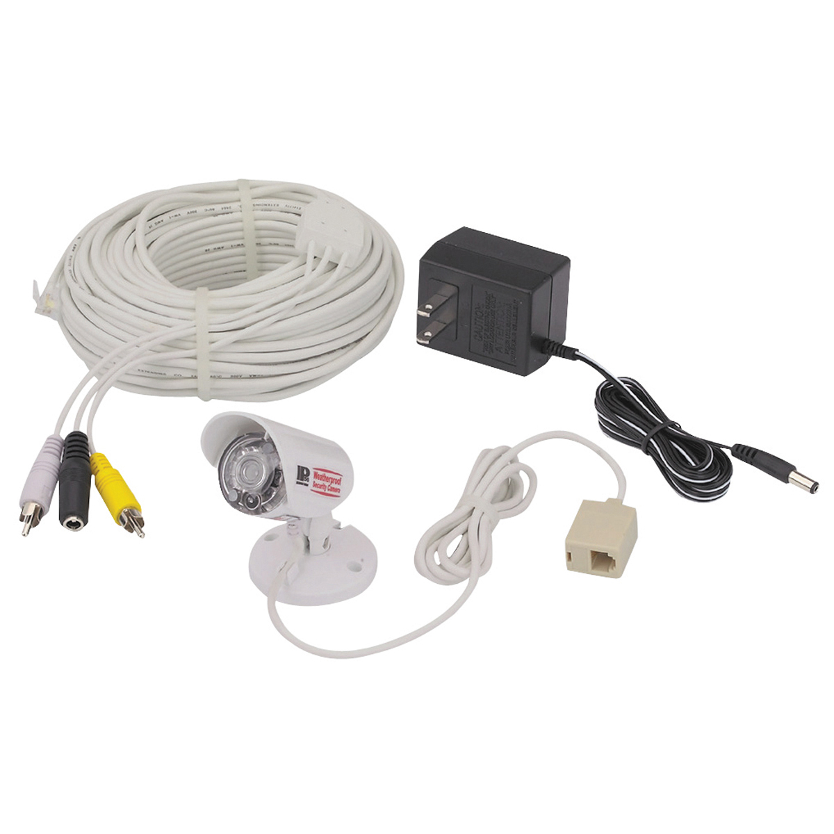 Weatherproof Security Camera With Night Vision Dome Wiring Diagram