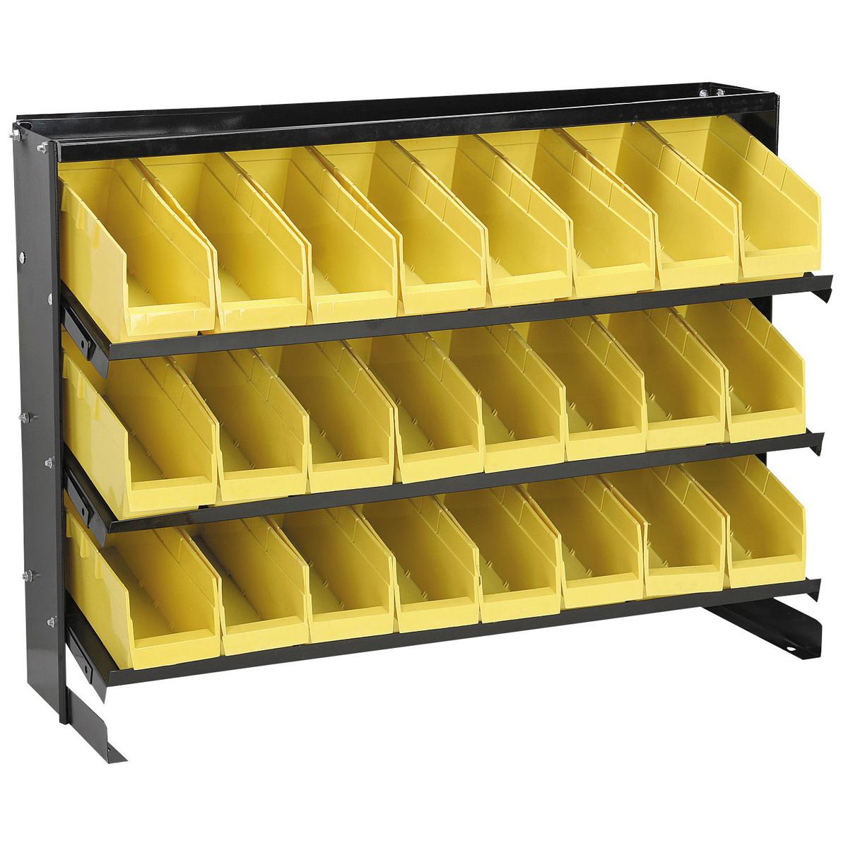 24 Bin Bench Top Parts Rack