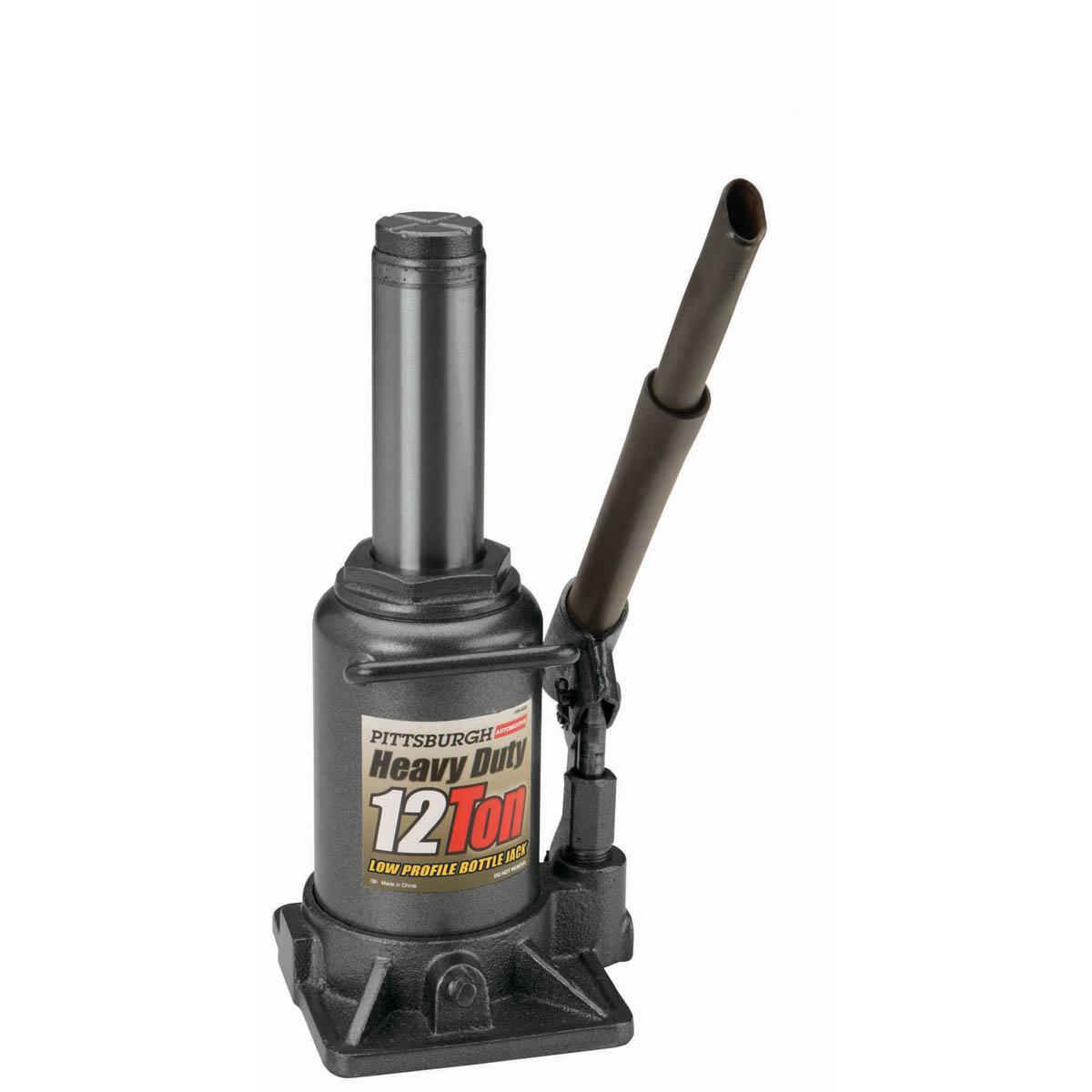 12 Ton Hydraulic Low Profile Heavy Duty Bottle Jack