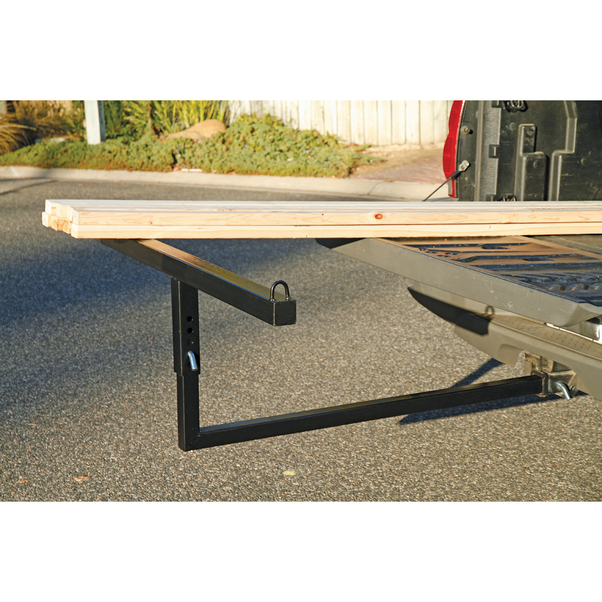 extender ttf steel inch pin tow amazon truck tuff bed com