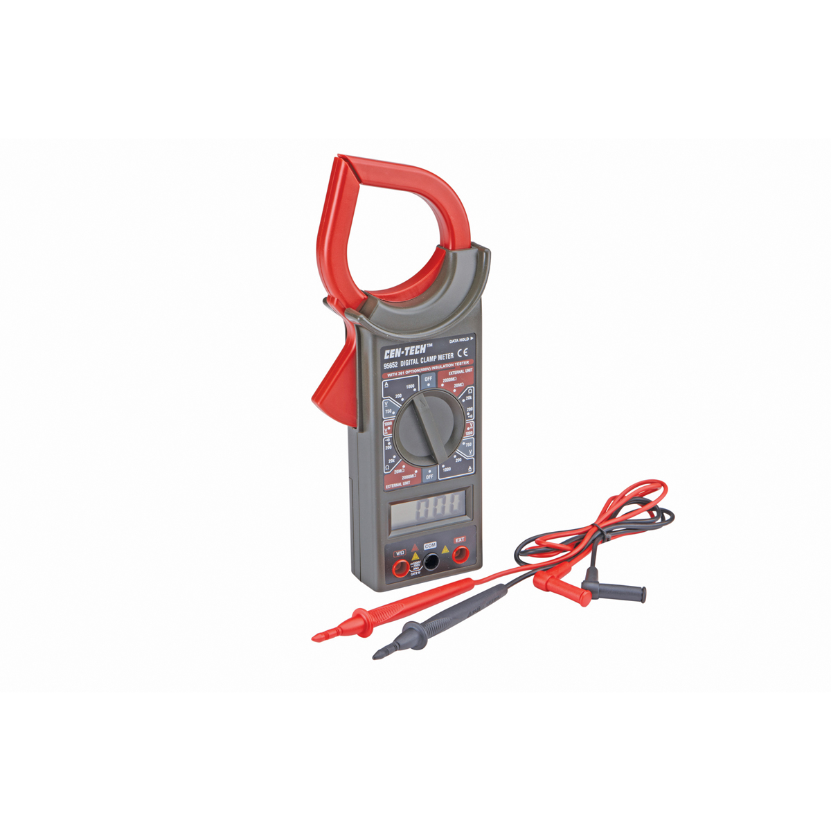 Dc Clamp Harbor Freight : Digital clamp on multimeter