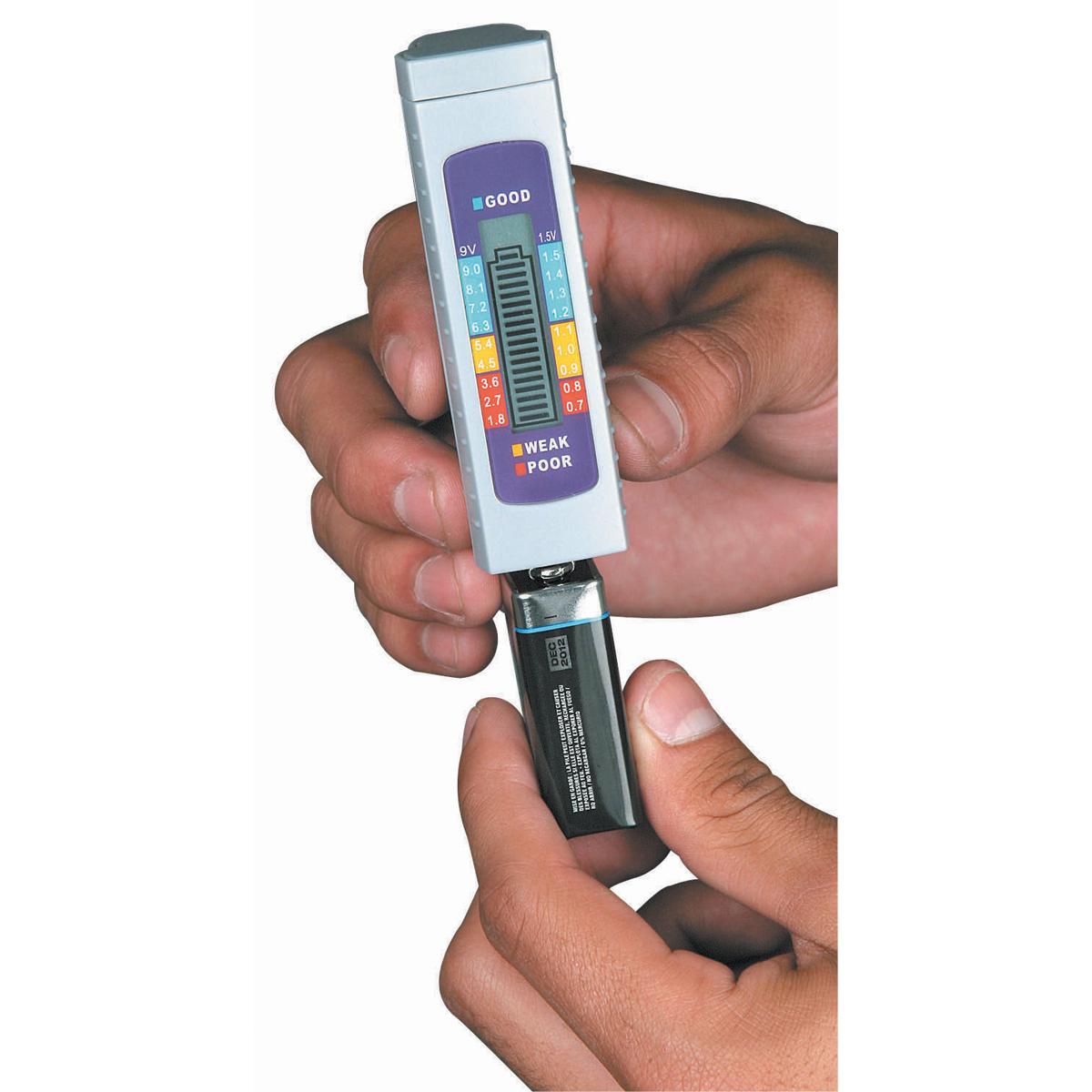 Battery Checker Tester : Digital battery tester