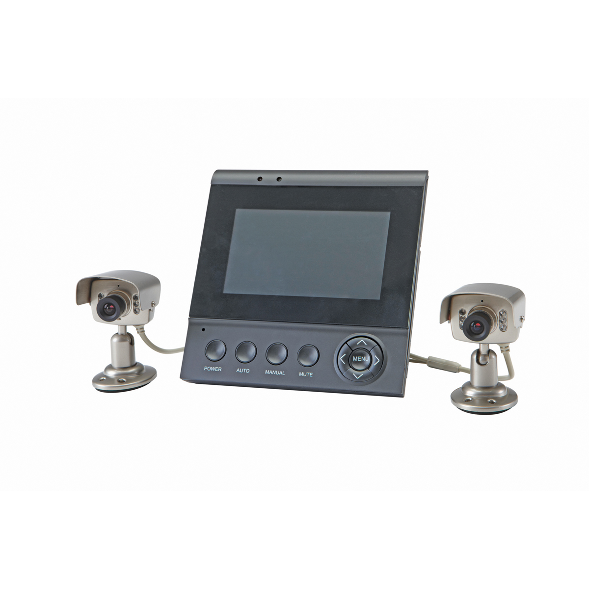 Color Security System With Night Vision