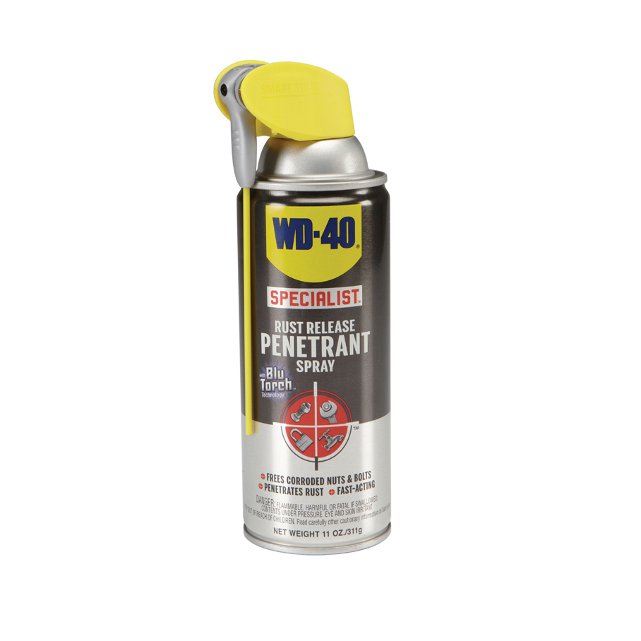 11 oz wd 40 specialist rust release penetrant spray. Black Bedroom Furniture Sets. Home Design Ideas
