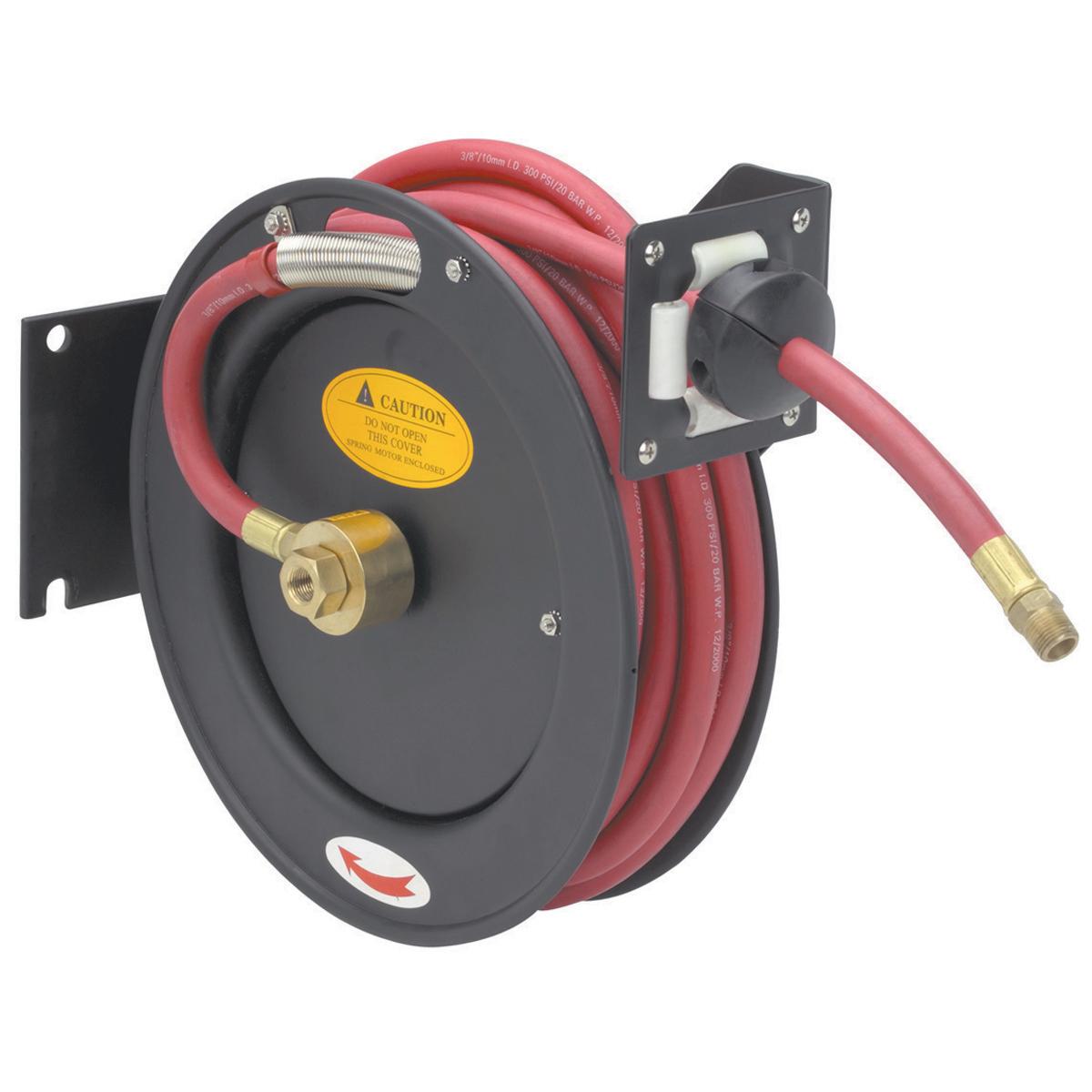 premium retractable air hose reel - Retractable Garden Hose Reel