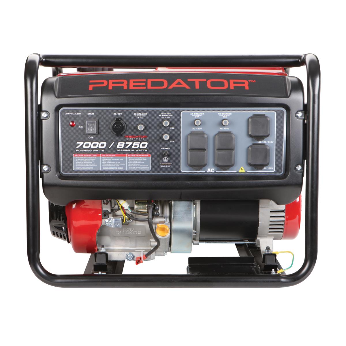 8750 Peak  7000 Running Watts  13 Hp  420cc  Generator Epa Iii
