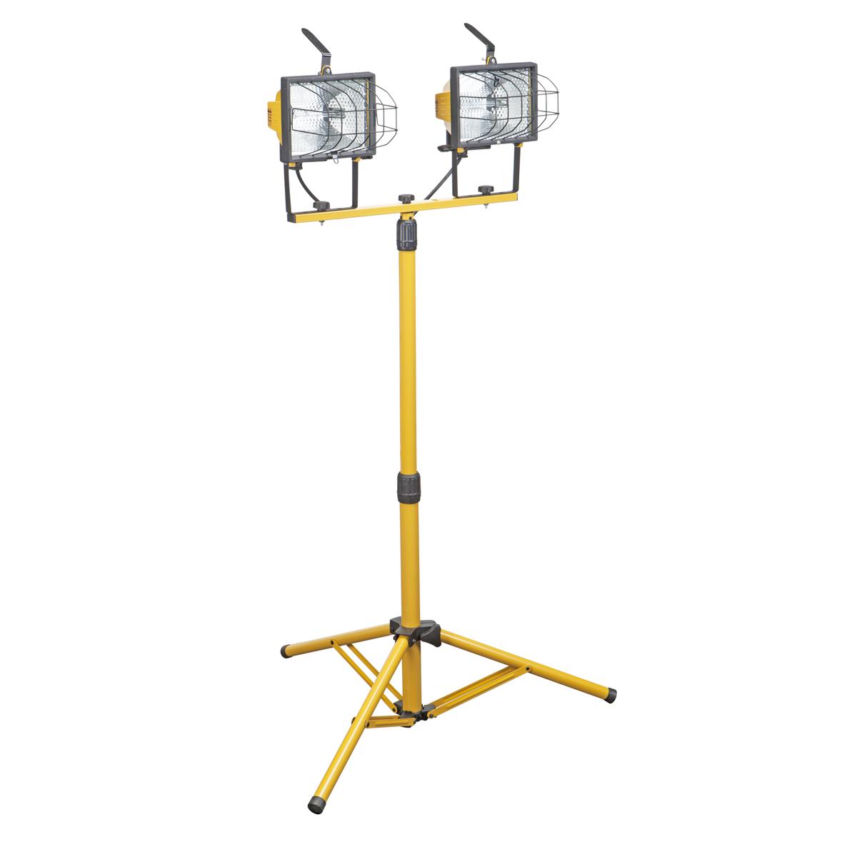 1000 Watt Twin Lamp Halogen Floodlight