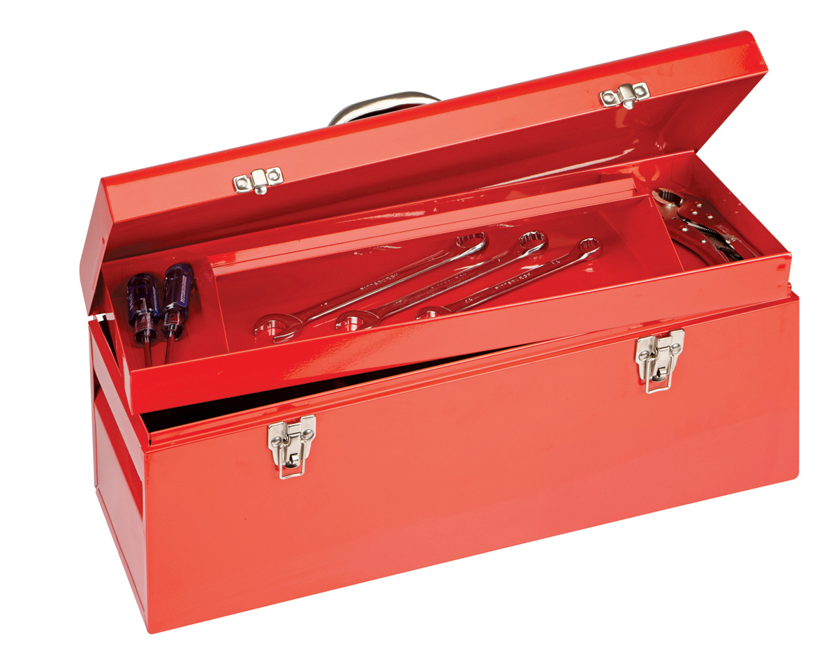 how to clean a ditry tool box