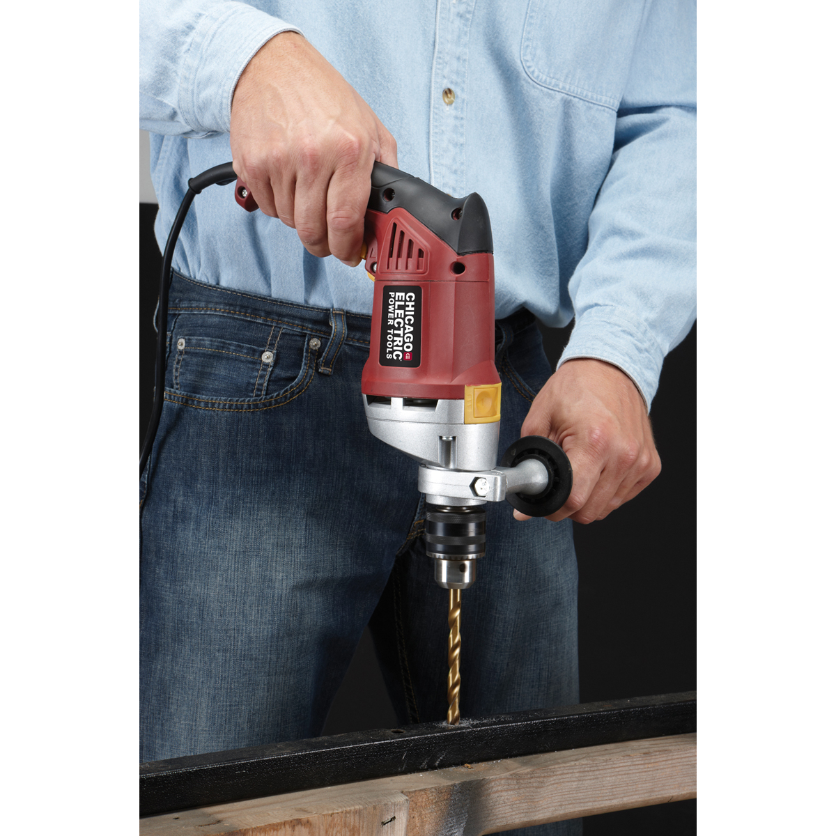 1 2 In Heavy Duty Variable Speed Reversible Hammer Drill