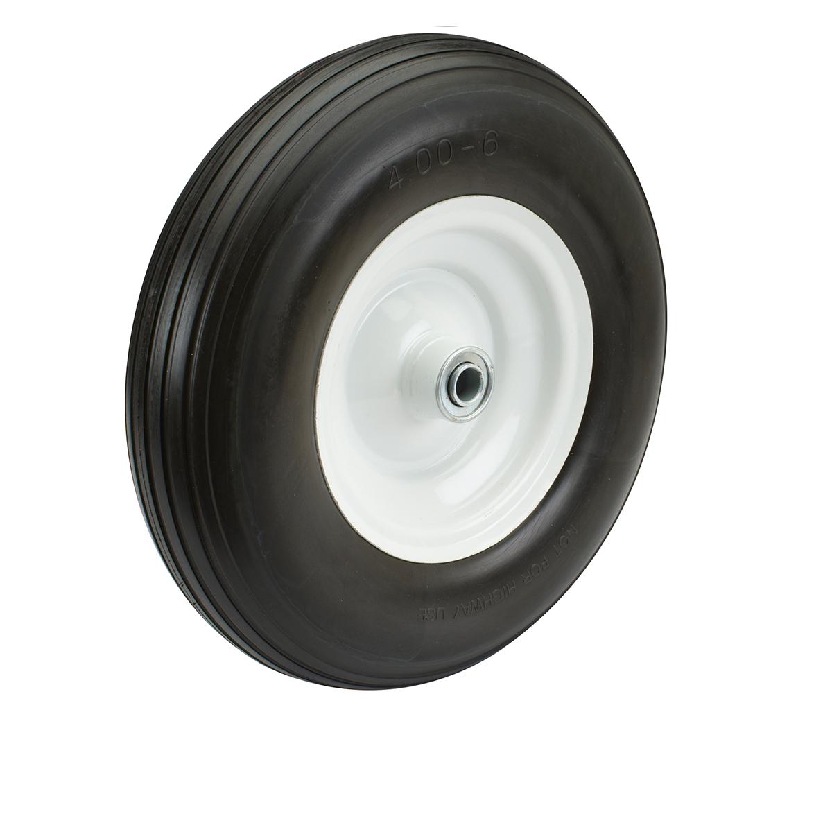 13 in. Flat-free Heavy Duty Tire with Steel Hub