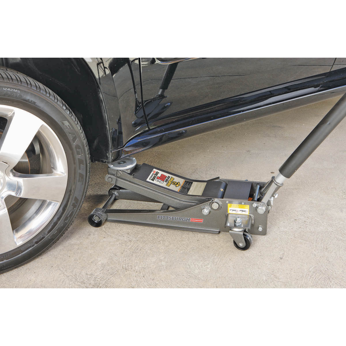 The Inside Track On Rapid Products Of Fitness: 3 Ton Low Profile Steel Heavy Duty Floor Jack With Rapid Pump®