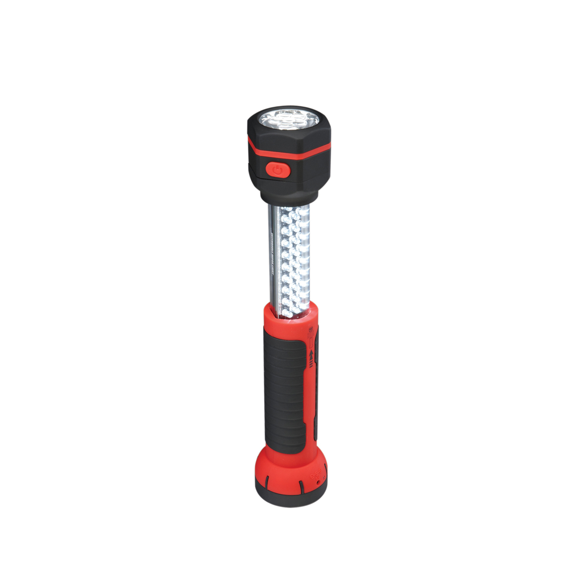 Work Light Total Tools: 2-In-1 Extendable 36 LED Cordless Work Light