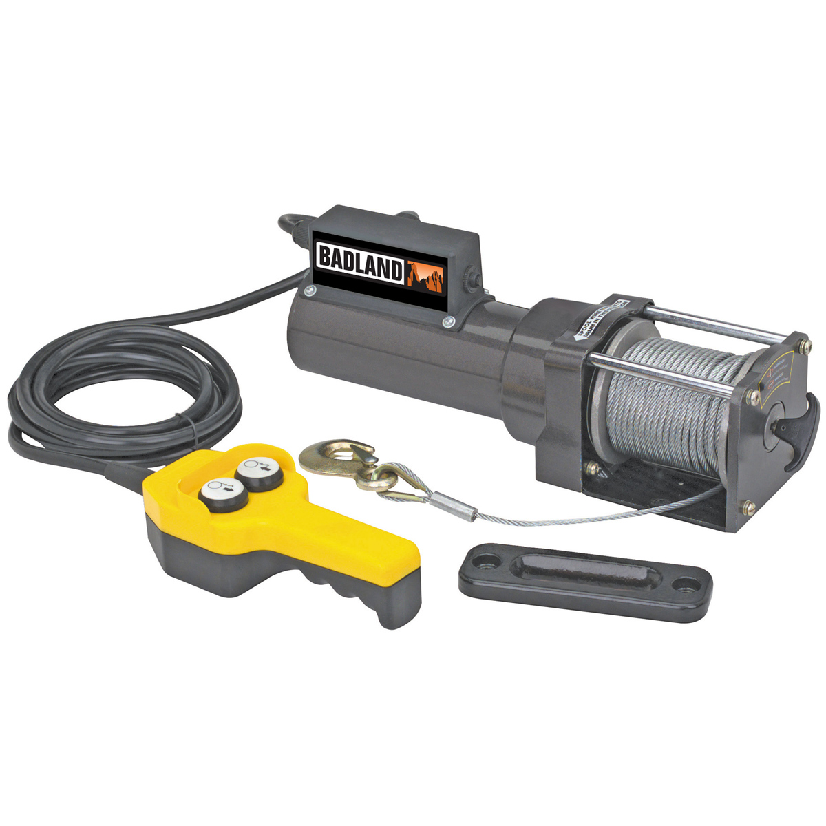 120v Ac Electric Winch W   Remote Control