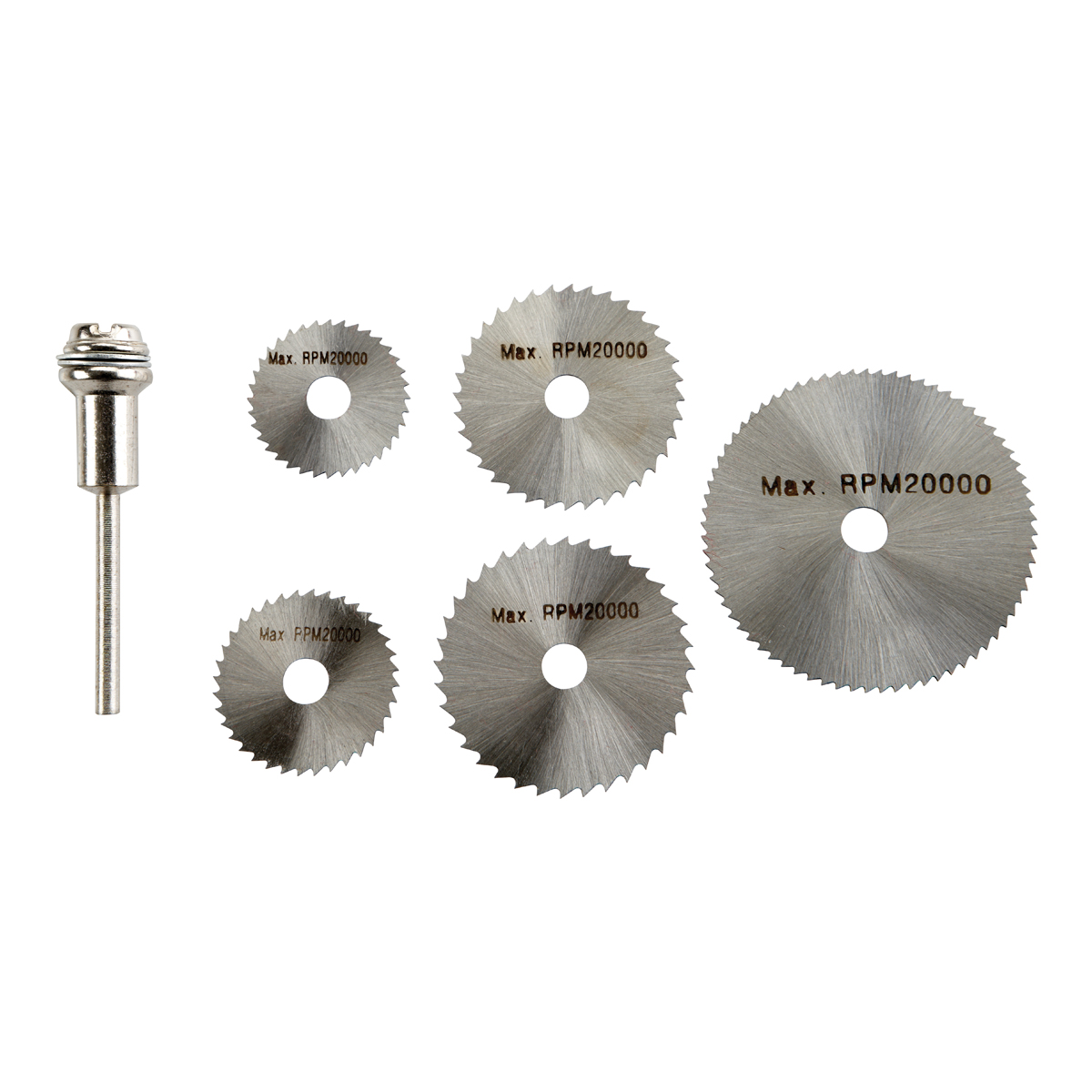 6 piece hss saw blade with mandrel set keyboard keysfo Gallery