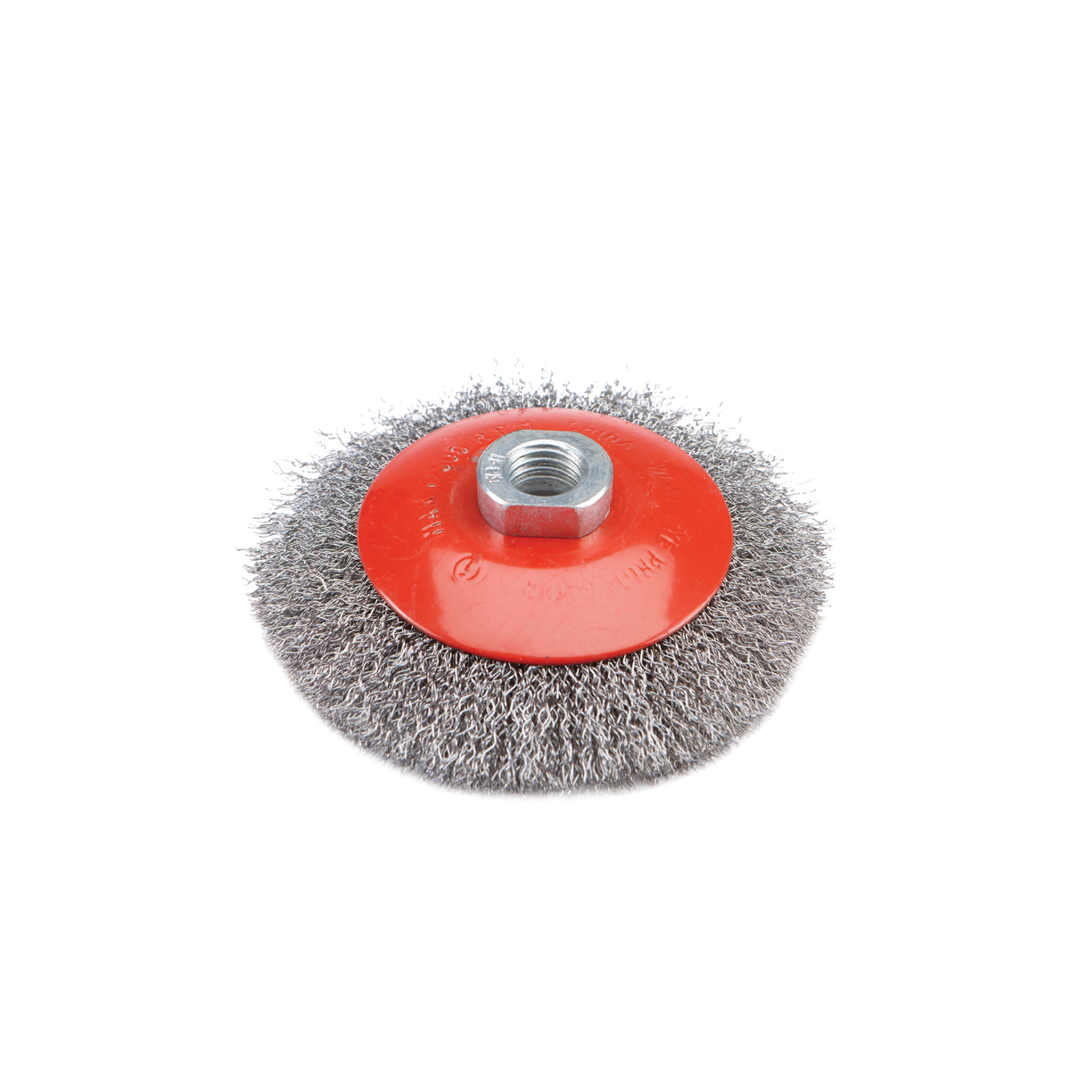 4-1/2 in. Crimped Beveled Wire Brush