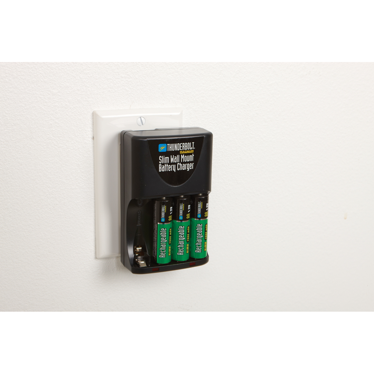 Slim Wall Mount Battery Charger