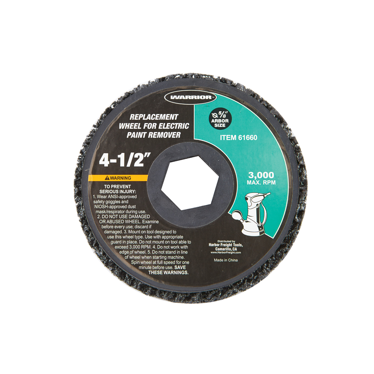 4 12 in replacement wheel for electric paint remover keyboard keysfo Choice Image