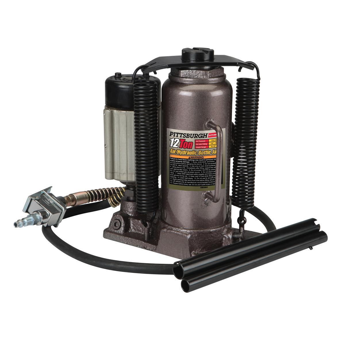 12 Ton Air Hydraulic Bottle Jack