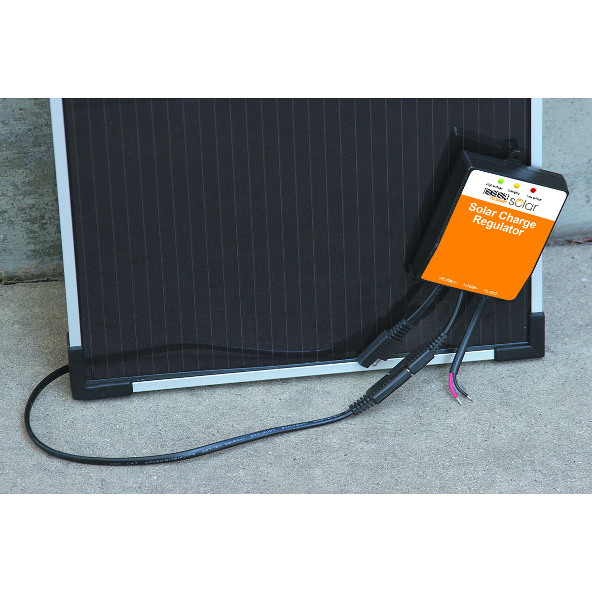 7 Amp Solar Charge Regulator Battery Charger With Overcharge Protection Electronic