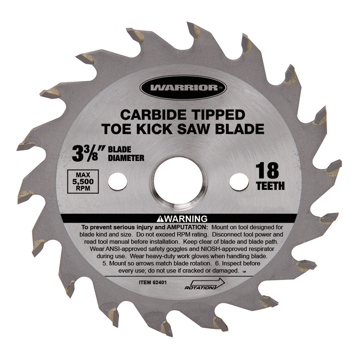3 38 in 18t toe kick circular saw blade 18t toe kick circular saw blade greentooth Choice Image
