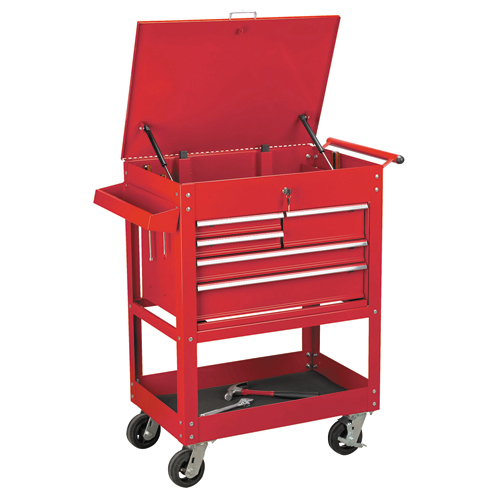 Harbor Freight 5 Drawer Tool Cart : Rolling tool cart w drawers