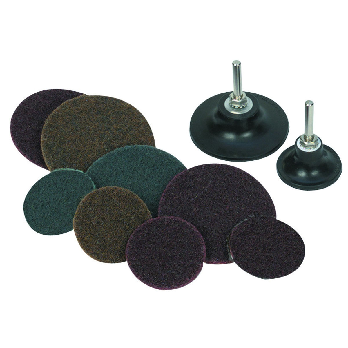 2 In 3 Fiber Disc Sanding Kit