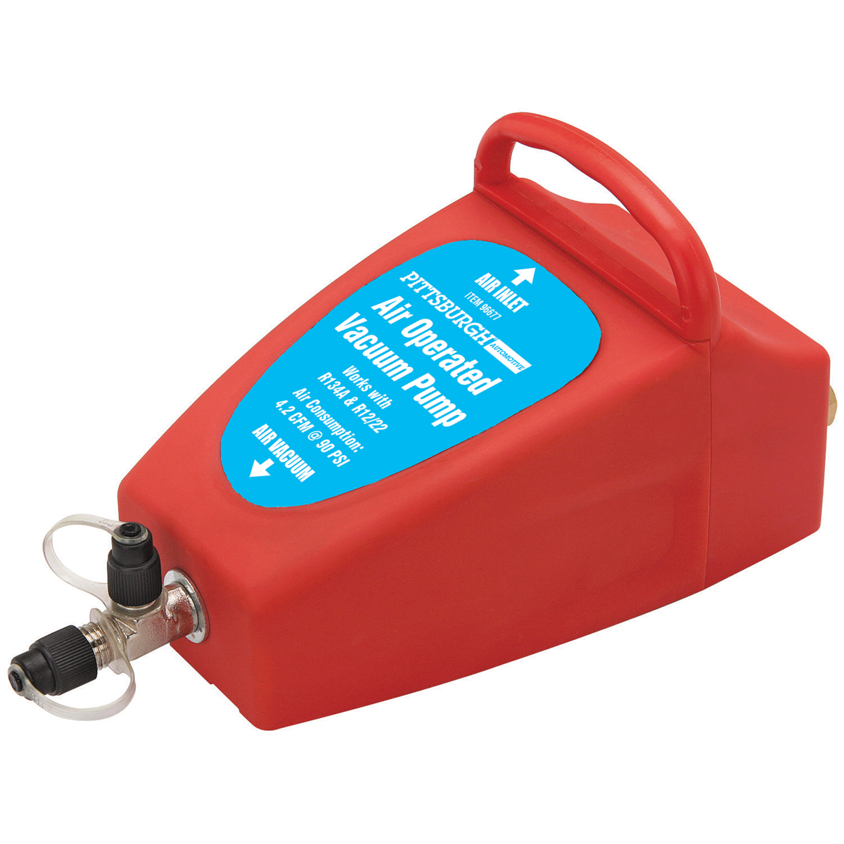 Hvac Vacuum Pump Wiring Diagram Library Gast Pumps Ac W R134a R12 Connectors Taco