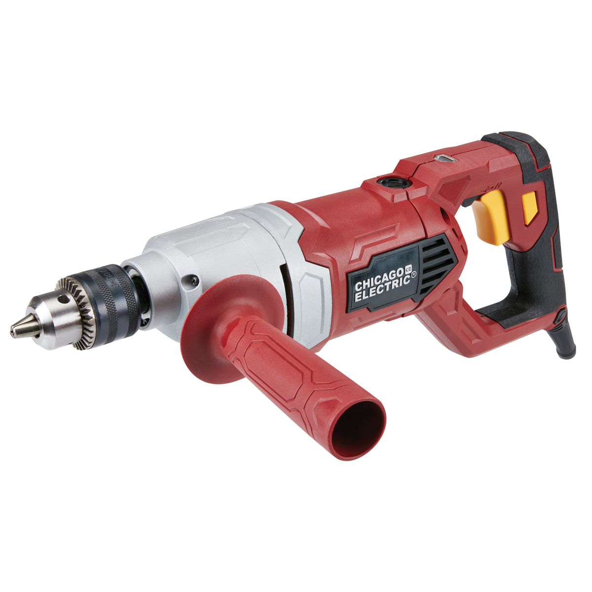 1 2 In Heavy Duty D Handle Variable Speed Reversible Drill