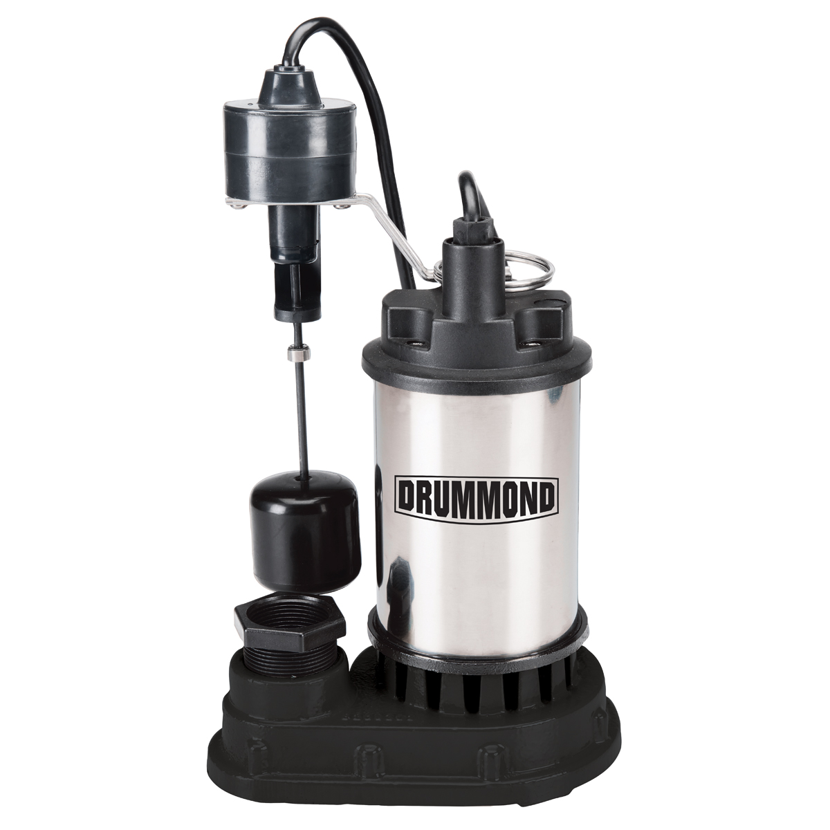 1/2 HP Submersible Sump Pump With Heavy Duty Vertical