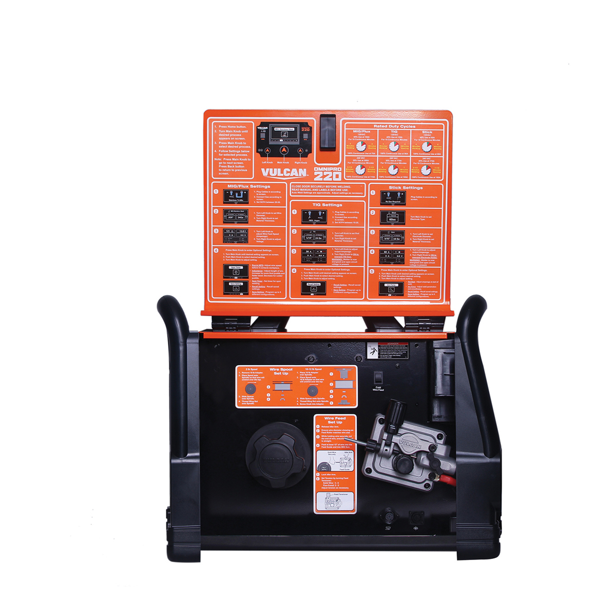 Omnipro 220 Industrial Multiprocess Welder With 120 240 Volt Input Wiring Up A 220v Welding Machine