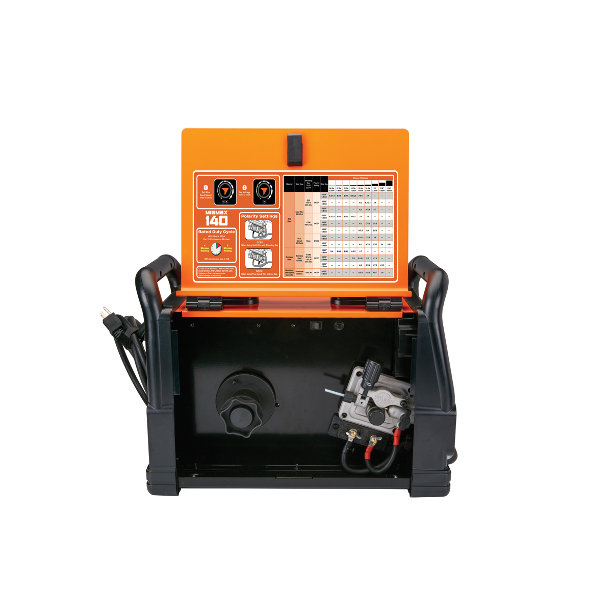 Migmax 140 Industrial Welder With 120 Volt Input Wiring An Outlet For A