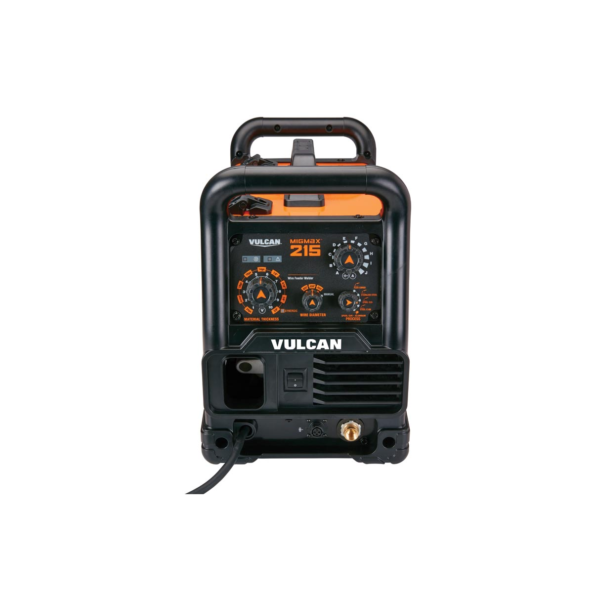Migmax 215 Industrial Welder With 120 240 Volt Input 240v Receptacle Wiring 3 Plug