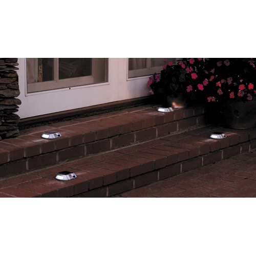 Patio Lights Harbor Freight: Pack Of 4 Solar Pathway Markers